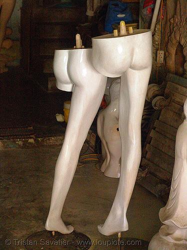 store dummies - legs - vietnam, legs, mannequins, nha trang, store dummies