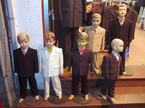 store dummies - vietnam, clothing store, hanoi, mannequins, store dummies, vietnam dummy