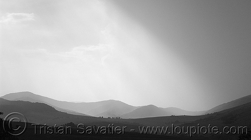 stormy landscape near belogradchik - sky (bulgaria), clouds, grey, hills, rain, stormy sky, weather