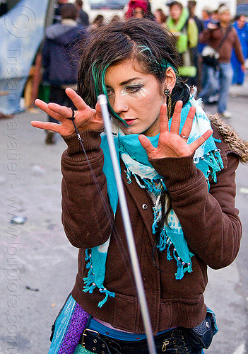 magic wand, how weird festival, woman