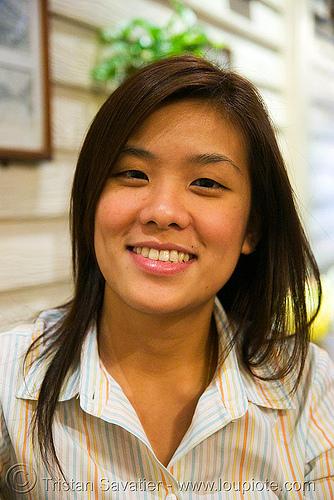 สาว สวย - บางกอก - suay (bangkok, thailand), asian woman, bangkok, striped shirt, suay, sŭay, thai, บางกอก, สาว สวย
