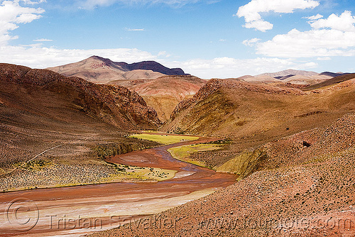 susques valley (argentina), desert, noroeste argentino, pampa, river, susques, valley