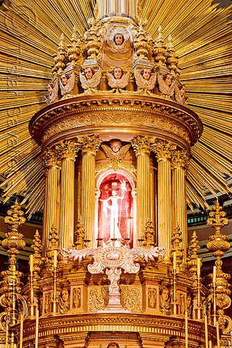 tabernacle - sacred art - salta cathedral (argentina), argentina, baroque, cathedral, christ, church, jesus, noroeste argentino, sacred art, sagrario, salta capital, tabernacle