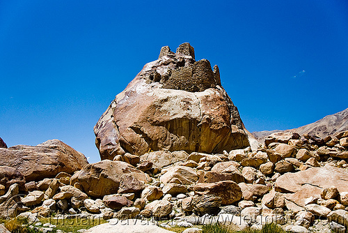 tangtse gompa (monastery) - road to pangong lake - ladakh (india), gompa, ladakh, tangtse, tibetan monastery