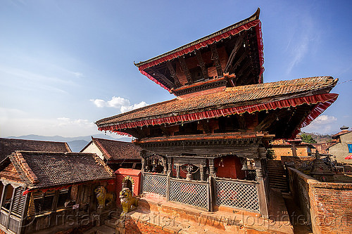 temple in nuwakot (nepal), nuwakot durbar, saat taale durbar