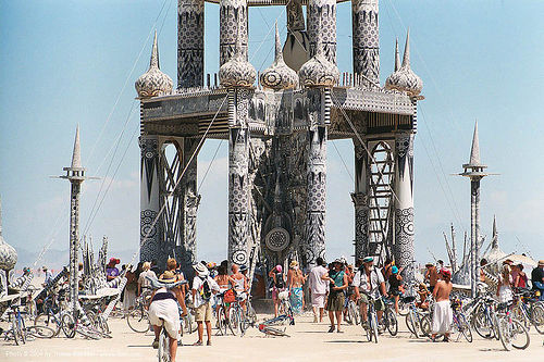 temple of honor by david best - burning-man 2003