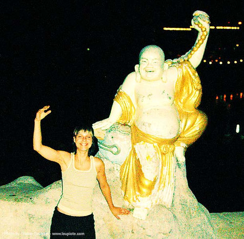 tha-thon - พระพุทธรูป - buddha - anke-rega, anke rega, budai, cross-processed, dxpro, fat buddha, hotei, laughing buddha, sculpture, statue, thathon, woman, ประเทศไทย, 布袋, 笑佛