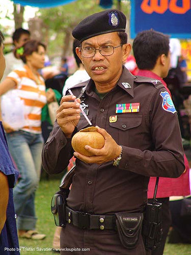 thai police - thailand, coconut, cop, phanom rung festival, police officer, police uniforms, policeman, thai police, uniform, ประเทศไทย, ปราสาทหินพนมรุ้ง