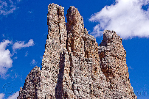 torri del vajolet - climbers on vertical cliffs - dolomites, abseiling, alps, cliff, climbers, dolomites, dolomiti, mountain climbing, mountaineer, mountaineering, mountains, rappelling, rock climbing, summit, torri del vajolet, vertical
