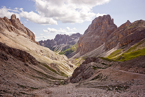 trail to rifugio principe, alps, dolomites, dolomiti, hiking, mountaineering, mountains, trail, trekking, via ferrata