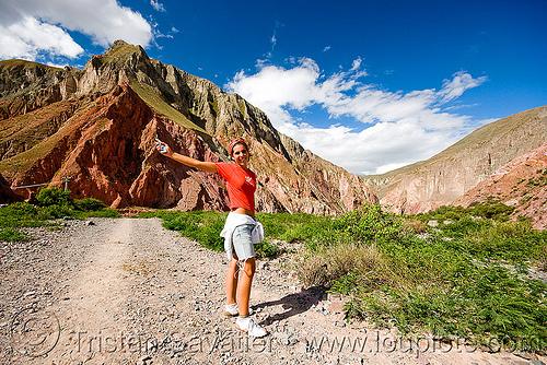 trekking near iruya (argentina), iruya, mountains, noroeste argentino, pilar, quebrada de humahuaca, trekking, woman