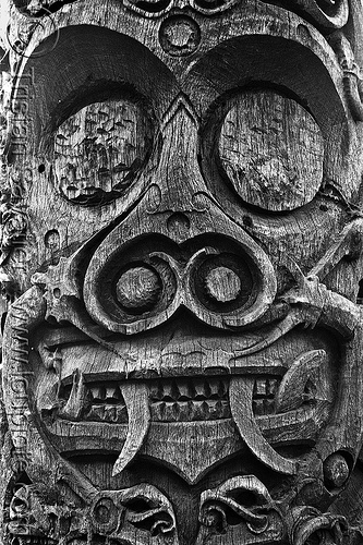 tribal wood carving (borneo), borneo, dayak, divinity, head, iban, indigenous culture, kuching, malaysia, scrulpture, spirit, totem, tribal, wood carving
