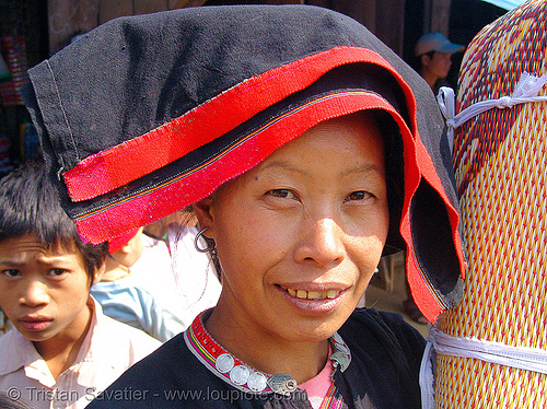 tribe woman - vietnam, asian woman, hill tribes, indigenous, vietnam