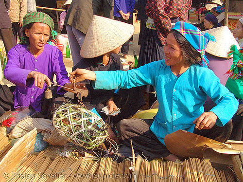tribe women - vietnam, asian woman, asian women, bảo lạc, colorful, hill tribes, indigenous, mature woman, old, vietnam