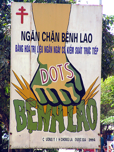 tuberculosis - eradicate - sign - vietnam, benh lao, campain, dots, eradicate, fist, hanoi, sign, tuberculosis