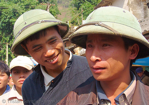 two guys - vietnam, hill tribes, indigenous, men