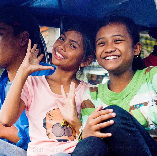 two teenage girls in jogja (indonesia), girls, java, jogja, jogjakarta, yogyakarta