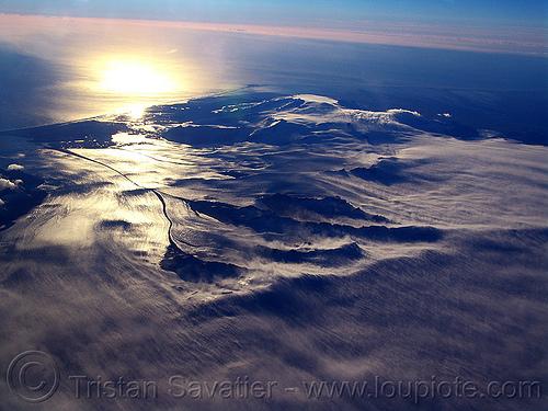 vatnajökull glacier (iceland), aerial photo, breiðamerkurjökull, coast, glacial lake, glacier, ice, iceland, jokulsarlon, jökulsárlón, ocean, sea, seashore, shore, vatnajokull, vatnajökull, water