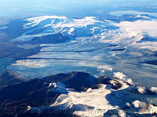 vatnajökull glacier (iceland), aerial photo, breiðamerkurjökull, coast, glacial lake, ice, jokulsarlon, jökulsárlón, ocean, sea, seashore, shore, vatnajokull, vatnajökull, water