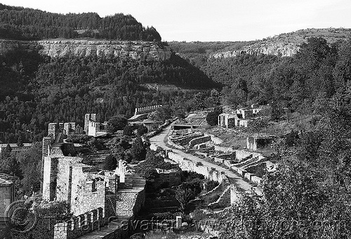 veliko-tarnovo - city walls (bulgaria), ruins, veliko tarnovo, българия