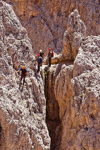 via ferrata del passo santner - dolomites, alps, climbers, dolomites, dolomiti, ferrata santner, mountain climbing, mountaineer, mountaineering, mountains, rock climbing, via ferrata del passo santner