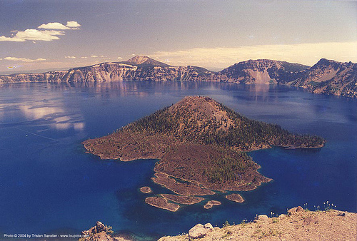 volcano - crater national park (oregon), crater national park, crater np, crater park, lake, oregon, volcano