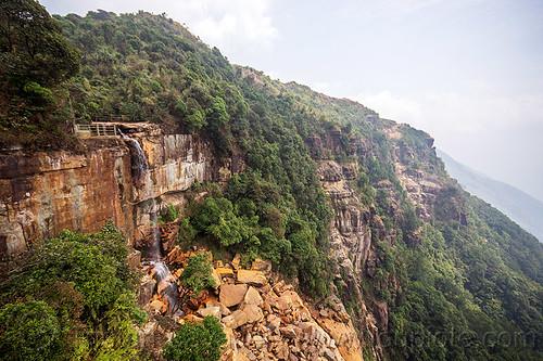 wakaba falls - seven sisters waterfall - cherrapunji (india), cherrapunjee, cherrapunji, cliff, east khasi hills, meghalaya, mountains, sohra, wakaba falls, water, waterfall, wha kaba falls