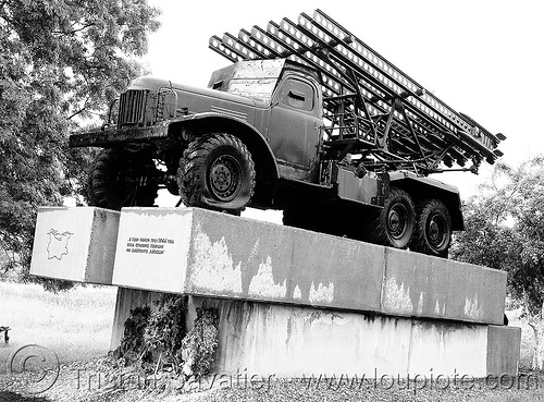 war monument - katyusha - Катюша (bulgaria), 4x4, 6x6, all-terrain, army, katyusha, lorry, military, rocket-launcher, rockets, soviet, truck, war monument, българия, катюша