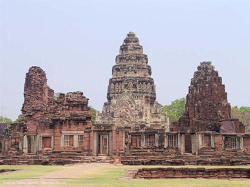 อุทยานประวัติศาสตร์พิมาย - wat phimai khmer temple - thailand, hindu temple, hinduism, ruins, wat phi mai, ประเทศไทย, พิมาย, อุทยานประวัติศาสตร์พิมาย