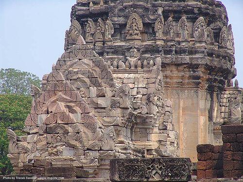 อุทยานประวัติศาสตร์พิมาย - wat phimai khmer temple - thailand, hindu temple, hinduism, khmer, phimai, ruins, wat phi mai, ประเทศไทย, พิมาย, อุทยานประวัติศาสตร์พิมาย