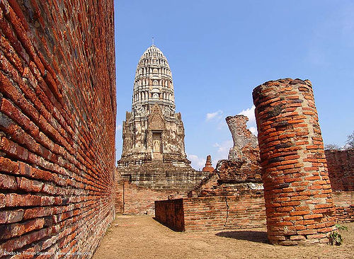 wat ruins - อุทยาน ประวัติศาสตร์ สุโขทัย - เมือง เก่า สุโขทัย - sukhothai - thailand, bricks, temple, ประเทศไทย, สุโขทัย, อุทยาน ประวัติศาสตร์ สุโขทัย, เมือง เก่า สุโขทัย
