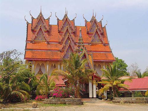 wat - สังขละบุรี - sangklaburi - thailand, temple, ประเทศไทย