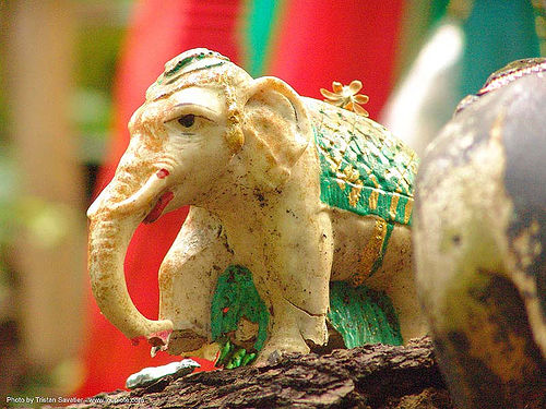 ช้างเผือก - white elephant sculpture - thailand, altar, elephant sculpture, elephant statue, offering, white, ช้าง, ช้างเ��\x9cือก