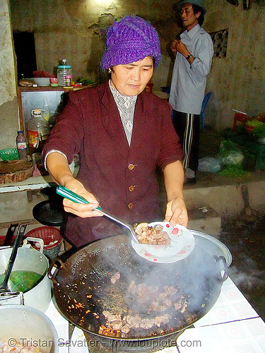 wok the dog! - dog meat cooking - thịt chó - vietnam, cook, cooked dog, cooking, dog meat, food dog, kitchen, wok