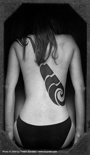 amanda - back, amanda, art, backpiece, skin, tattooed, tattoos