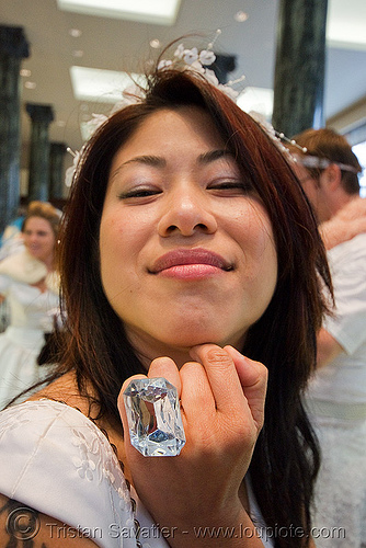 woman with diamong ring, asian woman, bride, brides of march, diamond, jewelry, ring, wedding, white