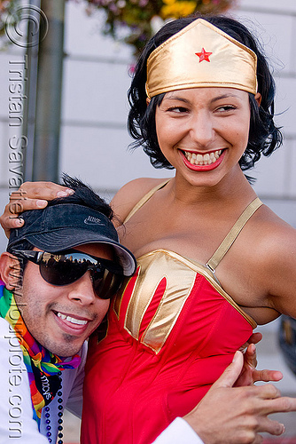 wonder woman costume, costume, dorothy, gay pride festival, man, wonder woman