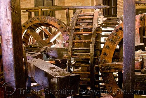 wooden gears, casa de la moneda, casa nacional de moneda, historical, mint, museum, potosí, wood gears, wooden gears, wooden machine