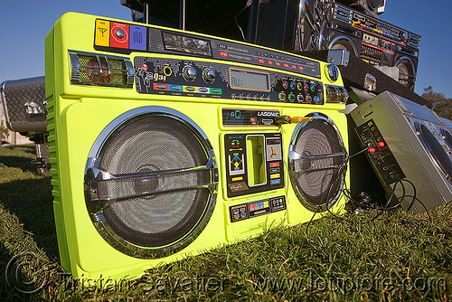 ghetto blaster, boomboxes, dj, dolores park, ghettoblasters, lasonic, radio, stereo