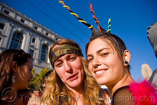 spiky mohawk, festival, love fest, lovevolution, mohawk hair, spikes, spiky, women, zoey