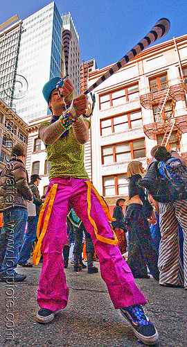 zoey spinning poi - how weird street faire (san francisco), how weird festival, kandi raver, plur, poi, raver outfits, spinning, woman, zoey