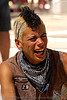 girl with mohawk - hida - burning man 2007