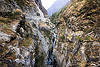 narrow gorge - kali gandaki river - annapurnas (nepal), annapurnas, gorge, kali gandaki river, kali gandaki valley, mountains, water