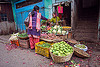 small vegetable store - farmers market (india), darjeeling, farmers market, produce, selling, shop, stall, store, street market, vegetables, women
