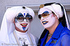 the sisters of perpetual indulgence, folsom street fair, makeup, man, nuns, sister mary ralph, sister selma soul, sisters of perpetual indulgence