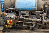 steam locomotive cylinder and rods (india), cylinder, darjeeling himalayan railway, darjeeling toy train, narrow gauge, piston, railroad, rods, steam engine, steam locomotive, steam train engine