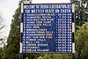 the wettest place on earth - sign (india), cherrapunjee, cherrapunji, east khasi hills, meghalaya, road sign, sohra
