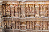 erotic sculptures at the konark sun temple (india), carving, erotic sculptures, high-relief, hindu temple, hinduism, konark sun temple, maithuna, stone