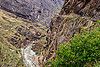 dangerous mountain road on vertical cliff (india), cliff, dhauliganga river, dhauliganga valley, motorbike touring, motorcycle touring, mountains, road, rock wall, stone, water