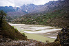bhagirathi river bed (india), bhagirathi river, bhagirathi valley, mountains, river bed, water